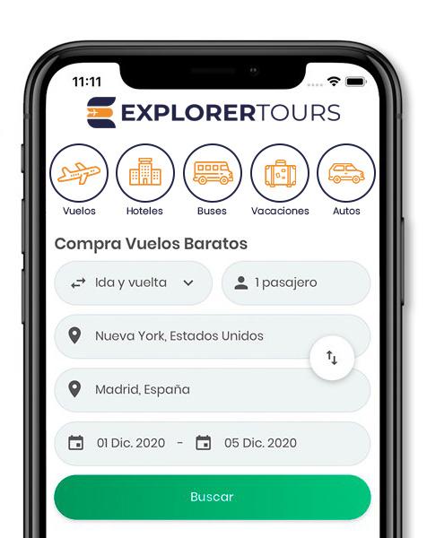 App Explorer Tours SAS